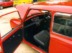 1972 Saloon with door open