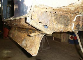Cooper 998 Rotten Subframe Mount