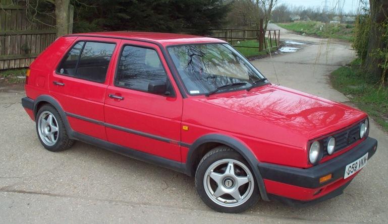 Mk II VW Golf GTI