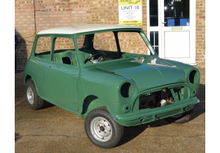 1964 Cooper S 1071 Major Shell restoration