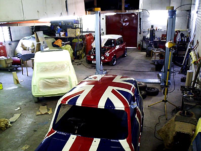 Mini restoration workshop